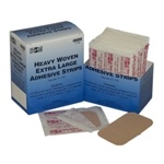 "2"" x 3"" Extra-Large Heavy Woven Strips' 50/Box"