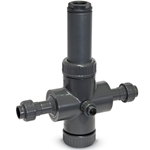 "Endress+Hauser Flowfit Inline PVC Flow Cell w/ Wall Mount Kit for CUS51D Sensors, 3/4""NPT(M), CYA251-AAB1B211+CAPA"