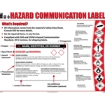"""Hazardous Comunication Label"" Poster' 18"" x 24"""
