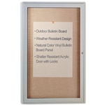 "Enclosed Vinyl Bulletin Board' 24""W x 36""H"