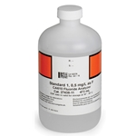 Fluoride Standard #1 for Hach CA610 Analyzer' 0.5 mg/L' 473 mL Bottle (2743811)