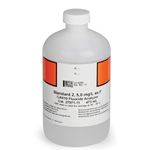 Fluoride Standard #2 for Hach CA610 Analyzer' 5.0 mg/L' 473 mL Bottle (2797111)