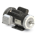 WEG TEFC Motor, Foot Mount, 1 PH, 0.33 HP, 3490 RPM, W56J Frame, 115/208-230V, .3336ES1BJPW56J-S