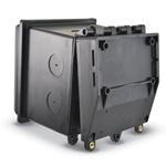 Signet Enclosure w/ Rear Beveled Hinged Cover for Wall or Panel Mounting' 3.9900.399-1