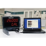 USABlueBook® Large-Display Process Meter/Controller w/ Decimal Readout' Single Input' (1) 4-20 mA & (4) Relays' 85-265 VAC