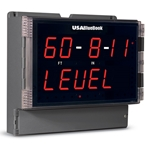 USABlueBook® Large-Display Process Meter/Controller w/ Dedicated Level (Feet & Inches) Readout' Single Input' 12-24 VDC