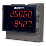 USABlueBook® Large-Display Process Meter w/ Decimal Readout' Dual Input' 85-265 VAC