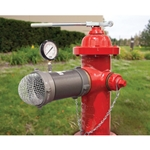 "Hydrant Flowtester/Diffuser w/ Case' 4.5"" NST' 160-PSI Gauge' No Elbow"