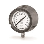 "Ashcroft® 4.5"" Water Level Gauge' 0-60 PSI/0-140 Ft/H2O' 1/4"" Connection' Liquid Filled' 1259 Series"