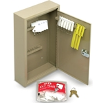 "Key Cabinet (Holds 30 Keys)' 8""W x 12-1/8""H x 2-5/8""D"