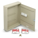 "Key Cabinet (Holds 28 Keys)' 14""W x 17-1/8""H x 3-1/4""D"