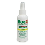 BugX Free Natural Insect Repellent' 4-oz Spray
