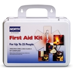 25-Person First Aid Kit' Class A' Plastic Case