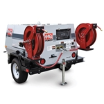 Double Hose Reel for Multi-Quip Towable Air Compressor' MQPDUALREEL50