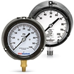 Liquid Filled Pressure Gauges: 4.5-inch
