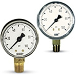 General Purpose Pressure Gauges: 2; 2.5-inch