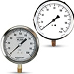 General Purpose Pressure Gauges: 3.5; 4 & 4.5-inch