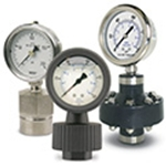 Pressure Gauges: Diaphragm Seal