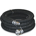Suction Hose: Rubber Wire Reinforced