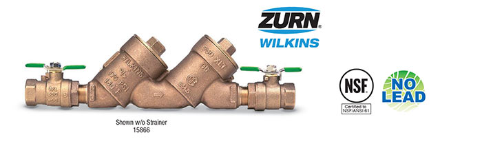 Save 10% on Select Zurn Wilkins Products!