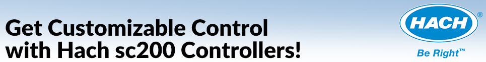 Get Customizable Control with Hach sc200 Controllers!