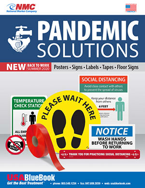 USABlueBook Pandemic Solutions Catalog