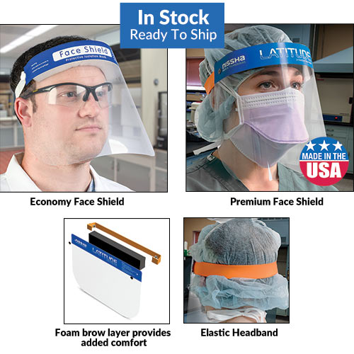 Disposable Protective Face Shields