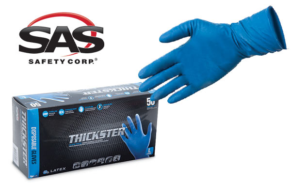 SAS Thickster Disposable Latex Gloves