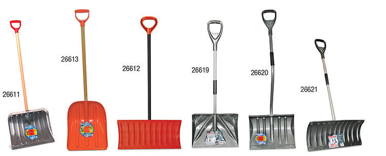 Snow Shovels and Pushers
