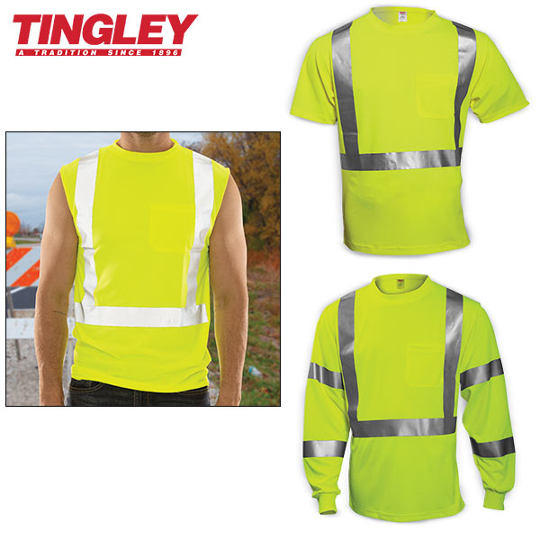 ANSI Type R Class 2 Mesh Traffic Vests with Department Names