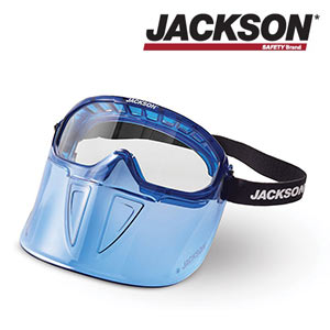 Jackson Safety Premium Goggles with Detachable Face Shield