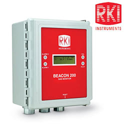 RKI Beacon™ Fixed Gas Detection Systems