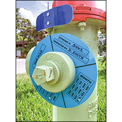 Hydra-Flector Hydrant Markers & Inspection Ring Markers
