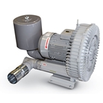 Blower package features single-stage configuration. Impellers connect directly to the motor shaft for powerful force without undue friction. Bearings are located outside of the compression chamber, ensuring operational reliability under high differential pressure. Low maintenance oil-free design provides ...