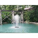 Kasco display aerators provide an attractive display for ponds and lagoons, while eliminating the problems associated with stagnant water. Energy efficient, they feature low power consumption that makes continuous operation affordable. Kasco's unique deflector technology, prop guard and standard bottom ...