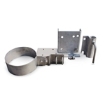 Universal dock mount kit lets you position circulators/mixers at different angles, including vertically. It features all marine-grade stainless steel construction and hardware, and accommodates a 1