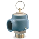 The Kunkle 337 pressure relief valve is specifically recommended for WWTP blower service. Its large nozzle provides high flow capacity, and it is designed to open at a precise, preset pressure with minimum pre-open leakage. Cast iron body has brass ...
