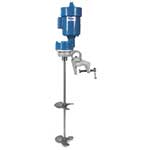 Use these mixers with open-top tanks and 55-gallon drums. Ball-and-socket type c-clamps provide precise positioning, and shaft support bearings reduce wear on the motor. Shaft and propeller feature rugged 316 SS construction. This gear-drive mixer is for mixing polymers and ...