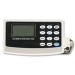 You can put a drum on this scale and leave it until it's empty. It is designed this way so that you can monitor chemical usage from a drum on a continuous basis. Large 5-digit display with swivel mount and ...