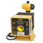 Microprocessor-controlled pumps offer 4-key programmable and manual control of pump speed. Adjust speed from 1 stroke/hour to 100 strokes/minute. Pumps accept 4-20 mA or pulse signals. The 4-20 mA response is scalable; you can program to respond to the signal ...