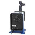 Pulsafeeder Series C pumps are well suited for simple systems that do not require flow pacing. Pump features a guided check valve system that reduces backflow and enhances the priming abilities. Series C pumps feature a fixed speed rate (strokes ...
