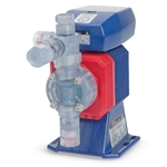 Walchem EZ electronic metering pumps with microprocessor control offer precise chemical injection in a cost-effective package. They feature output capacities of up to 151.2 gpd and pressure capabilities of up to 150 psi. The 360:1 turndown ratio provides unmatched versatility ...