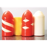 Flexible, bullet-shaped pigs have a pattern of wire brush straps or silicone carbide incorporated in coating causing a scraping action as it is forced through the piping. All sizes are available in many different coatings and hardness. Flexible foam poly ...