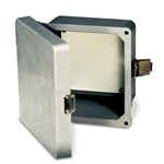 Durable enclosures have raised cover with lockable snap latch and are UV-resistant. Hinges, latch and mounting screws are made of stainless steel. Optional steel back panels are not included and need to be ordered separately. Note: Stock #s 42931 and ...