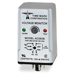 The Time Mark series 260 voltage sensor senses over- or under-voltage, and shuts down your motor before costly, time-consuming damage occurs. The unit has a screwdriver or fingertip-adjustable set point range of approximately 35% of the maximum voltage. Note: Order ...