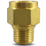Use to significantly lessen the damaging effects of pulsation on gauges' transducers' transmitters and pressure switches. No moving parts to wear or break. The snubbing element is a 316 SS porous metal disc. For 0 to 10'000 psi. Per the ...
