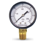 Economical, compact gauge for general use. Choose from models that are made in the USA or imported. Per the Federal Reduction of Lead in Drinking Water Act – this item cannot be used in potable (drinking) water applications