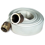 Fire hose is the best choice for use with high-pressure pumps and large washdown nozzles with integral shutoffs. Internally expanded couplings provide maximum strength where the coupling and hose are joined. We offer the most popular sizes with NST (also ...