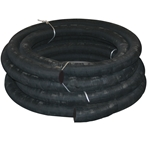 Rubber Suction Hose 6'' 25 feet, no couplings