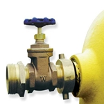 Protect main hydrant valves from damage caused by frequent operation and throttling. These 2-1/2